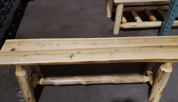 Fully Assembled 4 Foot Bench Wholesalers Furniture Direct